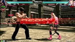getlinkyoutube.com-【鉄拳7】[Tekken Crash 60FPS] RO.16 Group D Loser Match : W.E.C. 対 모드나인 Rollickers -EsportsTV