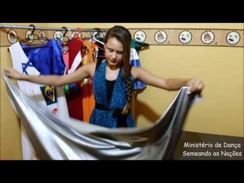 Roupa de Dança sem costura - Semeando as Nações