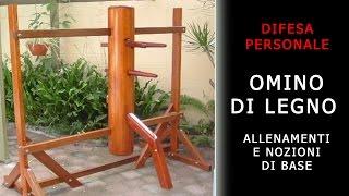 getlinkyoutube.com-omino legno (wooden dummy) - allenamenti e nozioni di base