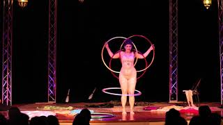 "Valentina's Slinky Hoop Burlesque at ""Seduced by the Imaginarium Circus"""