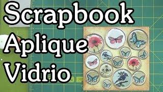 getlinkyoutube.com-Apliques para Scrapbooking imitación vidrio