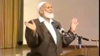 getlinkyoutube.com-Ahmed Deedat Answer - Does God require Jesus's BLOOD to forgive us? Includes Nouman Ali Khan