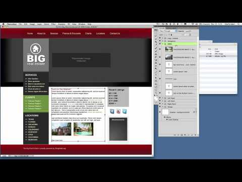 25-How to use SiteGrinder 3 PSD Templates -- Photoshop PSD to HTML Templates using SiteGrinder 3