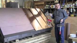getlinkyoutube.com-Standing Seam Metal Roofing Installation Basics Part 2