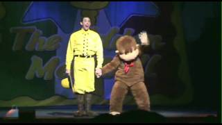 getlinkyoutube.com-CURIOUS GEORGE LIVE! Man With The Yellow Hat Clips