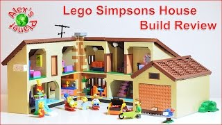 Lego Simpsons House Build Review