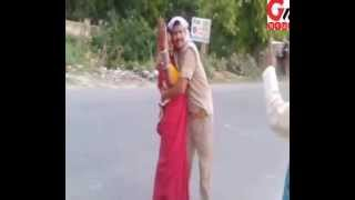getlinkyoutube.com-GNN NEWS AGENCY: UP Police Drunk & Misbehaving Publicly