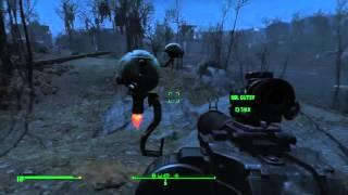 getlinkyoutube.com-Fallout 4 Hacking Mr. Gutsy and Sentry Bot