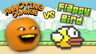getlinkyoutube.com-Annoying Orange Vs. Flappy Bird (SPOOF)
