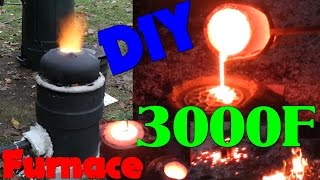getlinkyoutube.com-DIY Iron Furnace Build