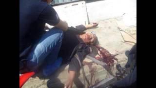 getlinkyoutube.com-Sangriento asalto a sucursal de Banamex