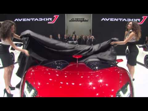 Lamborghini Press Conference at 2012 Geneva Motorshow