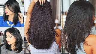 getlinkyoutube.com-How to grow hair REALLY FAST! | Natural Hair Mask! Only two ingredients!