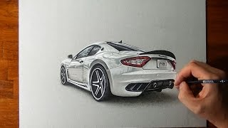 getlinkyoutube.com-Amazing Maserati Granturismo Drawing