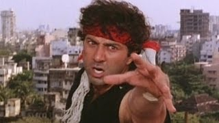 getlinkyoutube.com-Sunny Deol's famous dialogues in Famous Bollywood Movies