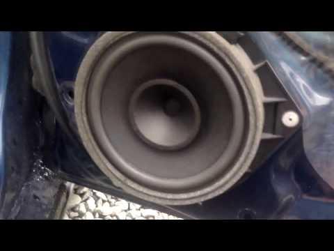 Замена динамика, снять обшивку дверную карту. отзыв.  Toyota Avensis 25