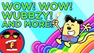 Paint a Picture AND MORE! | Fredbot Children's Cartoons (Wow! Wow! Wubbzy!)