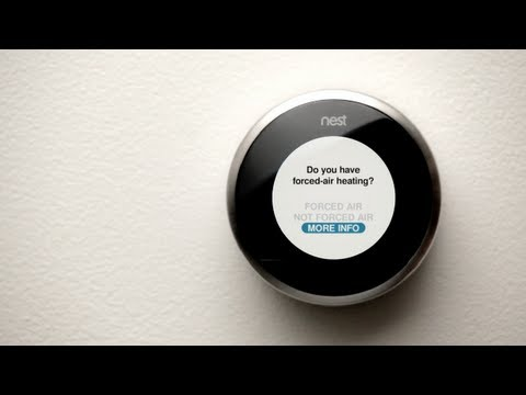 Nest Support - How to set up the Nest Learning Thermostat