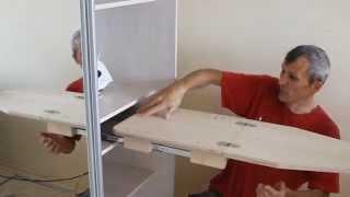 getlinkyoutube.com-Как сделать гладильную доску-трансформер