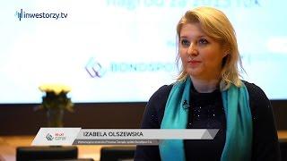Uroczystość Wręczenia Nagród Za Osiągnięcia w 2015 roku: Izabela Olszewska, BondSpot S.A.