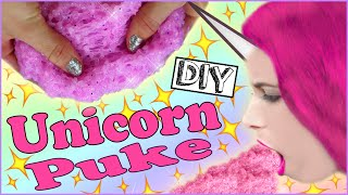getlinkyoutube.com-DIY UNICORN PUKE! | Make Glittery Puke! | DIY Unicorn Vomit!| Easy To Make!