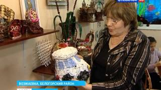 getlinkyoutube.com-Кружок чешского плетения