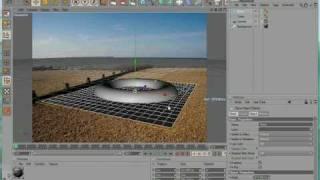 getlinkyoutube.com-Cinema 4D Tutorial - Compositing Background