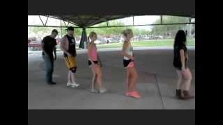 getlinkyoutube.com-Luke Bryan - Country Girl (Shake It For Me) Line Dance!