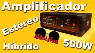 getlinkyoutube.com-Amplificador estéreo de 500 watts