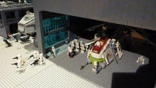 getlinkyoutube.com-Lego Star Wars-Clone Base Outpost Review