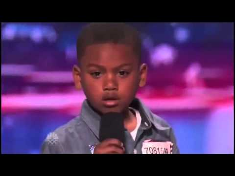Howard Stern Makes 7-year-old Rapper Cry on America's Got Talent -UYY4Pbl1mgg