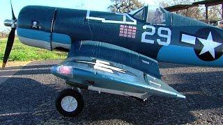 getlinkyoutube.com-RC F4U Corsair from LX Models with sound system