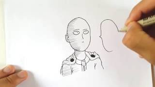 Drawing Saitama  (real time)