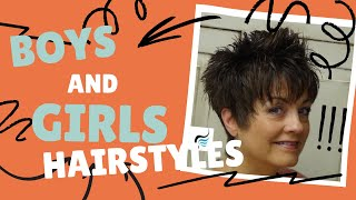 How to Cut Short Haircuts For Women | Short Haircuts