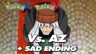 getlinkyoutube.com-Pokemon X & Y - Final Battle Trainer AZ + Sad Ending Cutscene