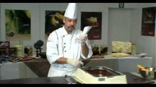 getlinkyoutube.com-Martins Chocolatier making chocolate decorations