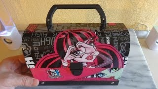 Monster High Cosmetic Gift Set Bag Unboxing