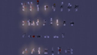 Minecraft 覚えておくと便利かもしれない回路紹介 part1