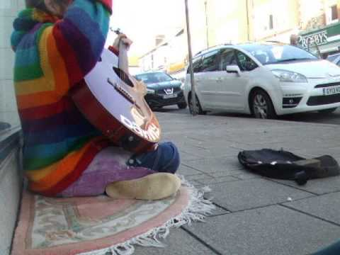 John Lennon - Imagine - Danny McEvoy - Busking in Seaford