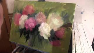 getlinkyoutube.com-Пишем букет, уроки живописи для начинающих, художник Игорь Сахаров