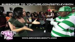 getlinkyoutube.com-VAGUE & BABS Presents QUEEN OF THE RING JAZ THE RAPPER -vs- K.PROPHET