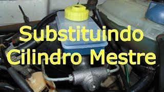 getlinkyoutube.com-Como Substituir o Cilindro Mestre de Freio (mecânica automotiva)