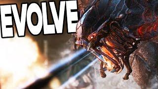 getlinkyoutube.com-Evolve - CRAZIEST MONSTER I'VE SEEN YET?! - Evolve Stage 2 Gameplay
