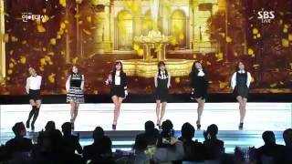 [141230]  A Pink - LUV @SBS Entertaiment Awards