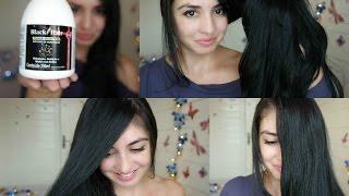 Cabelos - O segredo do meu cabelo (preto e brilhoso)