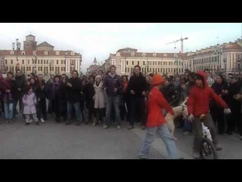 I Love Cuneo Flash Mob 22 Gennaio 2011