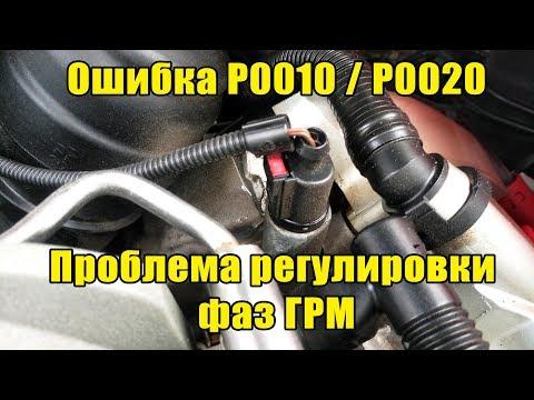 Ошибка P0010 Клапан-регулятор фаз ГРМ (Audi A6 C6 2.4 BDW)