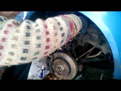Замена передних пружин, амортизаторов и стоек стабилизатора Chevrolet Lacetti