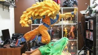 getlinkyoutube.com-Super Saiyan 3 Goku Custom Statue
