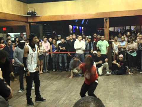 Les Twins Battle in La Rumba Night Club, ATL.